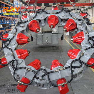high efficiency excavator parts hydraulic cutter pile breaker cutter, cutting quantity 60/8h