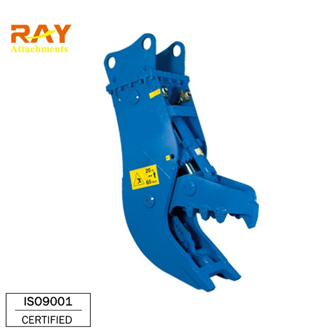 excavator mounted jaw crushers with high capacity and low price