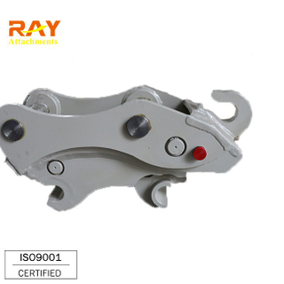 Hyundai Hydraulic Quick Coupler in Excavator