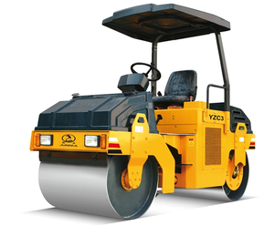 2-12 Ton Double Drum Vibratory Roller / Vibratory Oscillatory Road Roller