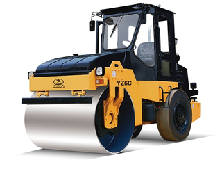 6 Ton Single Drum Vibratory/ Vibratory Oscillatory Roller Road Construction Rollers