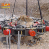 Construction Toos Excavator Attachment Hydraulic Pile Breaking Machine