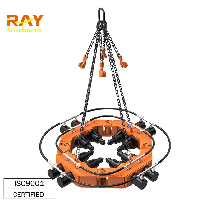 Hydraulic pile breaker cutting machine for excavator used