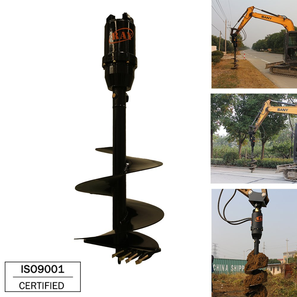 REA12000 model Earth Auger for 13-17T Excavator