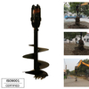 REA5000 model Earth Auger for 4.5-7 T Excavator