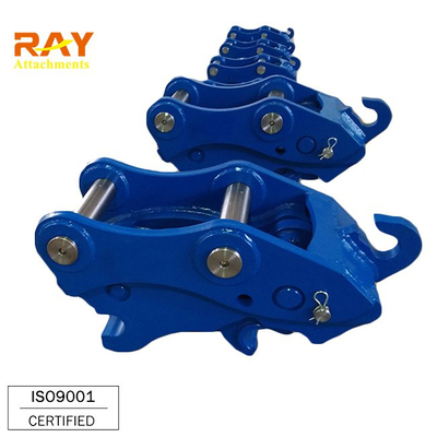 Excavator Bucket Hydraulic Double Safe Pin Quick Coupler