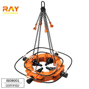 square shaped pile breaker for cutting concrete pillar