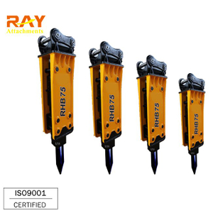 Top Type Hydraulic Breaker For 6~26 T Excavator