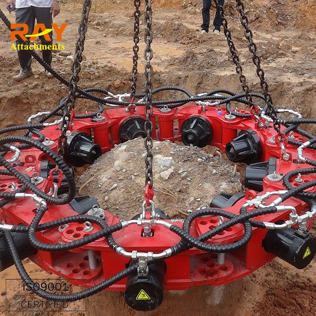 Concrete Pile Head Cutter pile breaker machine for excav used