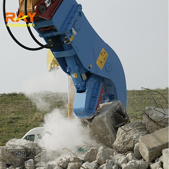 Hydraulic shear/Crusher Fixed Type/ Fixed Pulverizer