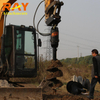 REA3000 model Earth Auger for 2-3.5T Excavator