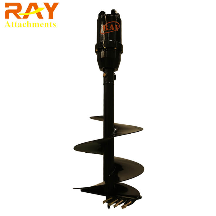 Hydraulic Motor Earth Auger Drilling