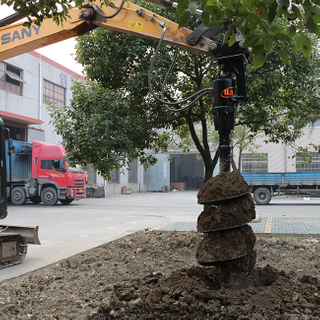 2500 Earth Auger drill for Excavator