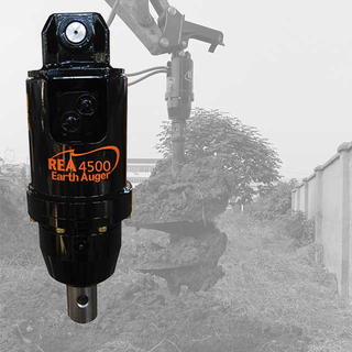 REA4500 Excavator Earth Auger