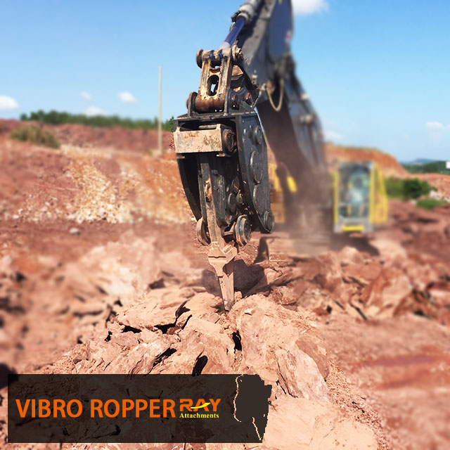 How to operate vibro ripper ?